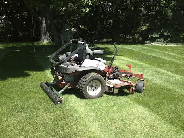 Lawn Striper Big League Lawns