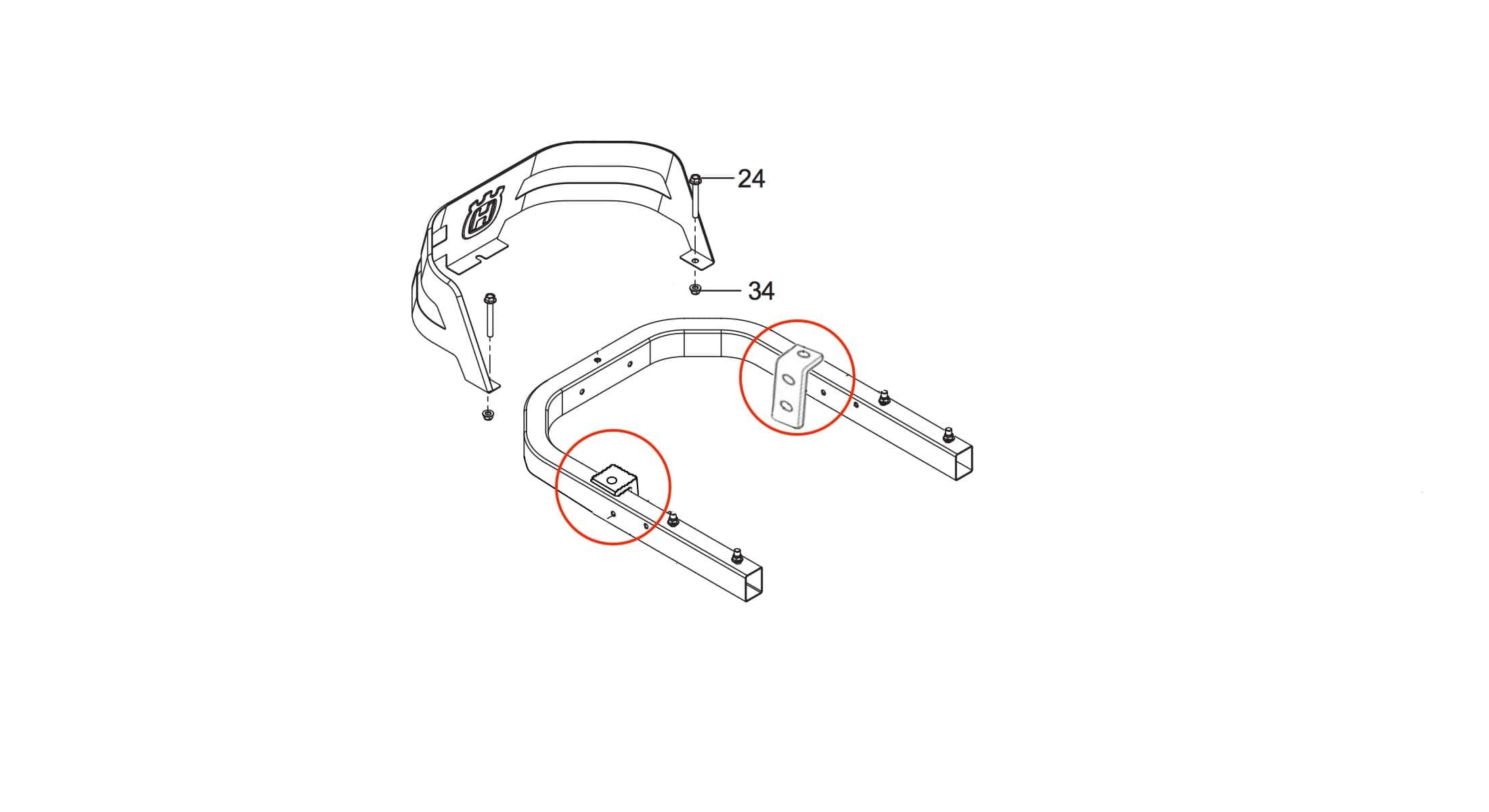 Checkmate Lawn Striper For Husqvarna Z200 Series Tractor Wiring Diagram Installation Schematic